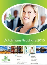 Dutch to English Translation Services Agency - DutchTrans