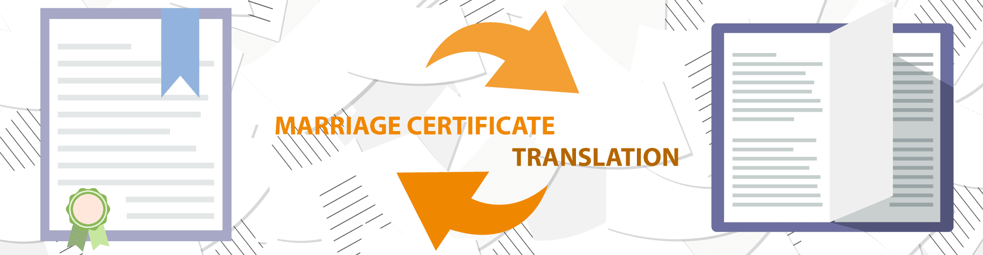 certified marriage certificate translation