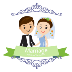 marriage certificate translation to English